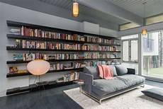 Einrichtungsdeen F 252 R Hausbibliothek Und B 252 Cherwand Ruhe