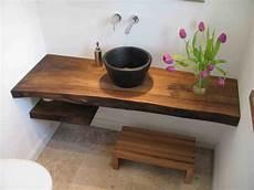 Bad Selber Bauen - waschtisch massivholz badezimmer