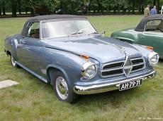 1958 Borgward Cabriolet Supercars Net