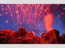 fireworks at mt rushmore 2020