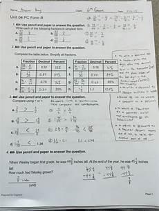 mathematics grade 4 answers 6th grade ch 4 review sheet answers mr minturn s math