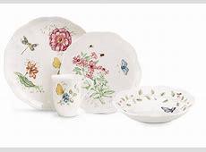 Amazon.com: Lenox Butterfly Meadow 18 Piece Dinnerware Set
