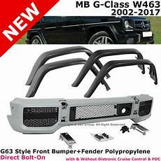 g63 2017 facelift 2002 2017 mb w463 g63 g65 style g class front bumper w