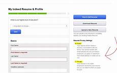 should you upload your resume on sites like indeed privacy tips
