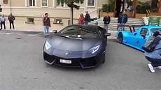 Lamborghini Aventador Noir Mat Top Marques Monaco 2015