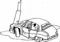 Ausmalbilder Lustige Autos Ausmalbilder Auto Unfall Ausmalbilder