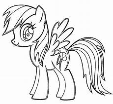 My Pony Malvorlagen Rainbow Dash Rainbow Dash Pony Coloring Page My Pony Coloring