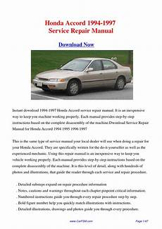 service and repair manuals 1997 honda accord parental controls download 1994 1997 honda accord service repair manual by gong dang issuu