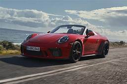 Porsche 911 Speedster Debuts In New York With 495bhp Flat