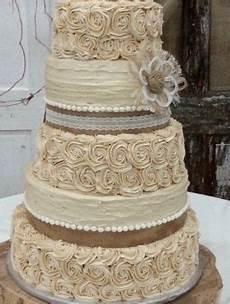 rustic wedding cake burlap flower farmhouse southern barn country events diy wedding