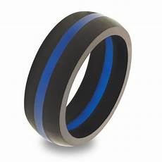 qalo men s thin blue line rings 911supply ca 911supply