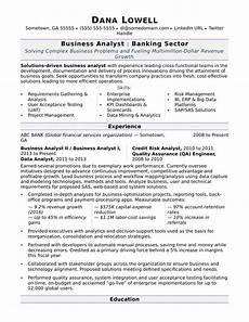 business analyst resume sle monster com