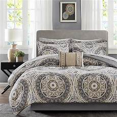 park essentials complete comforter and cotton sheet cal king taupe 8178859 hsn