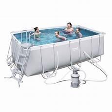 bestway kit piscine rectangulaire tubulaire l4 12 x l2 01