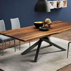 Table Design En Bois Massif Pi 233 Tement Mikado En M 233 Tal