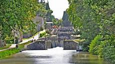 Fonserannes Locks A Staircase Lock On The Canal Du Midi
