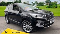 ford kuga vignale 2018 used ford kuga black cars for sale motorparks