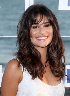 long brunette hairstyles with bangs beauty riot