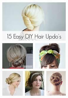 15 easy diy hair updo s artzycreations com