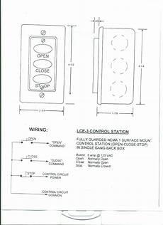 Lce 3 Three Button Station 001 Garage Door Stuff