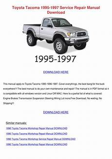 what is the best auto repair manual 1995 toyota tacoma 1995 1997 service repair manual by ismaelgarrett issuu