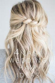 easy bridesmaid hairstyles to do yourself twisted hairstyle for a half up do waves