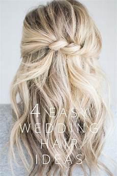 Easy Diy Wedding Guest Hair Style