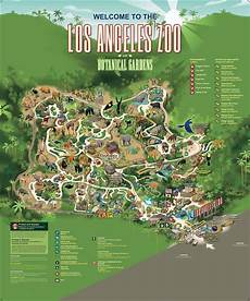 los angeles zoo and botanical gardens los angeles zoo and botanical gardens zoo map