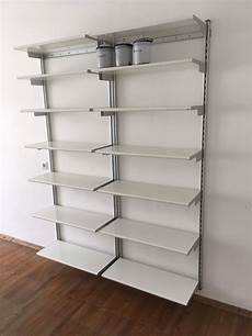 ikea bücherregal wand ikea regalsystem mit wandschienen in 80469 m 252 nchen for 25 00 for sale shpock