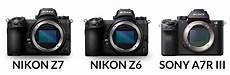 nikon z7 z6 sony a7r iii review specs lenses more