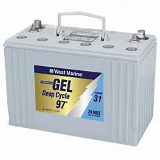 batterie a gel west marine 31 gel cycle marine gel battery 97 hours west marine