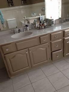 martha stewart s metallic paint on bathroom cabinets