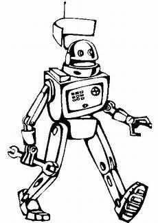 malvorlagen roboter indonesia malbild