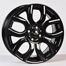 mini cooper s spoke 17 inch gloss black alloy wheels
