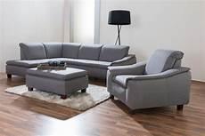 ecksofa mit sessel und hocker aaron ecksofa links mit 25er sofa rechts sessel mit