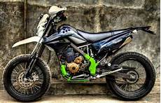 Modifikasi Klx 150 Motocross by Modifikasi Motor Klx 150 Trail Modifikasi Motor Klx 150