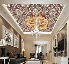 flower wallpaper ceiling beautiful wisteria flowers ceiling wallpapers 3d wall