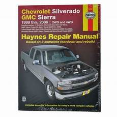 motor repair manual 1999 gmc 3500 user handbook chevrolet silverado repair manual ebay