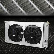 chevy s10 sonoma blazer jimmy for chevy blazer s10 gmc sonoma jimmy aluminum 3 core row radiator w cooling fan ebay