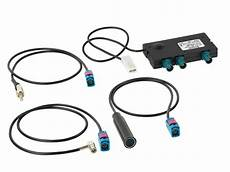 aktiver antennensplitter radio am fm dab dab incl adapter
