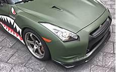 Matte Green Nissan Gtr One Soul Graphics