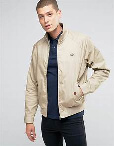 fred perry fred perry harrington jacket in twill