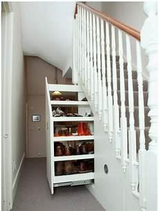 Treppe Mit Stauraum - stauraum unter der treppe ausziehbar schrank schuhe flur