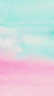 Iphone Lock Screen Watercolor Wallpaper by Mint Aqua Pink Watercolour Ombre Texture Iphone Wallpaper