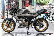Modifikasi All New Vixion 2018 by Modifikasi Yamaha All New Vixion Velg Emas 5 P7
