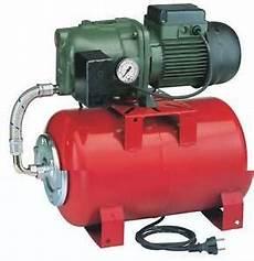 pompe à eau avec surpresseur surpresseur 20l pompe eau de surface jetly 102 20m pro