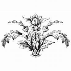 worksheets printable 20281 baroque foliage motifs white image stock photos royalty free images