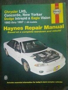 free car repair manuals 1997 chrysler lhs windshield wipe control haynes repair manual lhs concorde new yorker intrepid vision 1993 1997 ebay