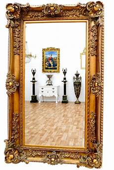 wandspiegel gross wandspiegel barock rahmen antik gold ca 156cm superlative