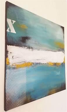 bilder auf keilrahmen kaufen diptychon fragment der zeit unikat moderne malerei in